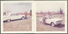 Vintage Car Photos Man & Woman 1962 Mercury Comet Automobile 750689