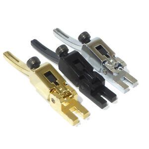 Single tremolo bridge saddles in chrome black or gold Low pro Floyd Rose guitar