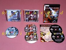 3x PC _ Soul Reaver 2 & LEGACY OF KAIN DEFIANCE & Blood Omen 2 _ molto buona Resp.