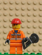 LEGO minifigures City cty052 Operaio Worker Construction set 5642 5627
