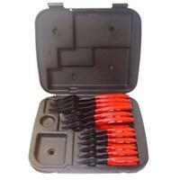 Lang Tools 3495 12 Piece Combination Internal External Snap Ring Pliers Set