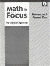 Grade 5 Math in Focus Homeschool Answer Key for Student Books & Workbooks 5th