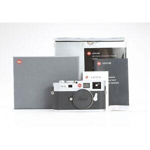 Leica M8 Silver + 72 Tsd. Auslösungen + Gut (228794)