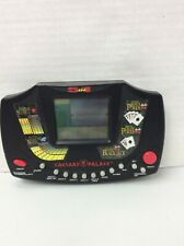 TIGER CAESARS PALACE 5 in 1 HANDHELD ELECTRONIC CARD POKER SLOTS GAME TESTED