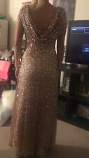 bridesmaid dress/ Formal Gown/ Sequin Dress