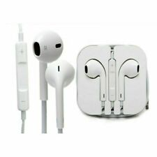 Genuine Apple Earphones With Remote and Mic EarPods iPhone 5 6 6s 4 RRP £30