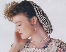 Crochet Pattern ~ LADIES VICTORIAN SNOOD ~ Instructions