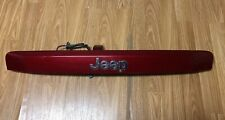 2007-17 Jeep Compass Patriot Lift Gate Trunk Trim PRH  Inferno Red 55369049AE