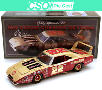 Bobby Allison 1969 Dodge Daytona University of Racing 1/24 Die Cast IN STOCK