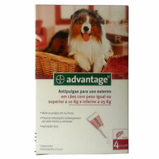 Bayer Adv. 250 Large Dogs 4 Pipettes | FREE SHIPPING