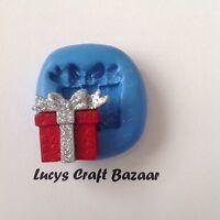 Silicone Mould Xmas Present Gift Christmas Cake Decorating Sugarcraft Fimo Icing