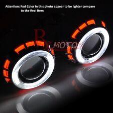 "Chevy Headlight Retrofit Projector Bi Xenon Dual CCFL Halo Ring 2.5"" H1 HID Ford"