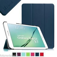 "For Samsung Galaxy Tab S2 9.7"" SM-T810/SM-T815 Case Slim Stand Cover Sleep/Wake"