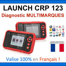 ★ VALISE DIAGNOSTIQUE ★ LAUNCH CRP123 - Renault Peugeot Mercedes Bmw Audi Golf