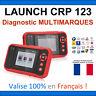 Valise Appareil Diagnostique Pro Multimarque En Français Obd2 Diagnostic CRP 123