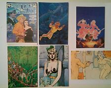 6 carte postale Moebius Gir Arno Les Humanoides associés Métal Hurlant