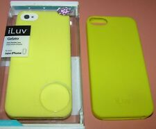 iLuv Gelato soft flexible case for Apple iPhone 5/5s/SE, Lime Green Color, NEW