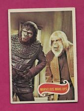 Rare 1967 # 64 Planet Of The Apes Marvelous Make-Ups Ex+ Card (Inv# A2529)