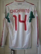 Adidas Mexico Techfit Bicentenario Soccer Jersey Rare #12/10000 Chicharito Tri