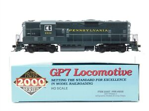 HO Scale Proto 2000 23007 PRR Pennsylvania GP7 Diesel 8508 DCC Ready - BAD GEARS