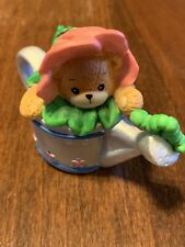 Enesco Lucy Riggs Porcelain Bear Figurine – garden watering can