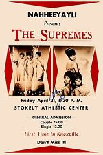 Motown: Diana Ross & The Supremes at Knoxville TN Concert Poster 1966