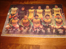 FRANCE FOOTBALL MAGAZINE  FEBRUARY 1980  POSTER VALENCIENNES, N.FOREST-LIVERPOOL