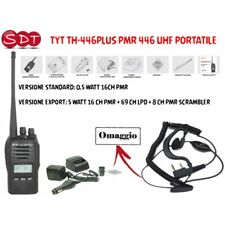 TYT TH-446PLUS PMR 446 UHF PORTATILE VERSIONE EXPORT O STANDARD
