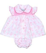 Robes rose coton mélangé pour fille de 0 à 24 mois