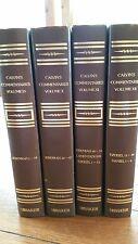 CALVIN'S COMMENTARIES, Vol. IX,X, XI, XII,
