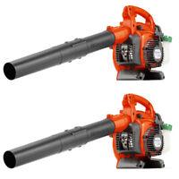 New HUSQVARNA 125B 28CC 170 Mph Gas Leaf/Grass Handheld Blower 2 Cycle (2 Pack)
