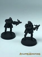 Metal Uruk Hai Crossbow X2 - OOP - LOTR / Warhammer / Lord of the Rings X18