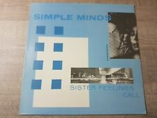 Simple Minds – Sister Feelings Call LP Reissue FRANCE 1984 OVED2 réf 70097
