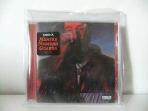 "MECNA ""MENTRE NESSUNO GUARDA"" CD AUTOGRAFATO +MASCHERINA OCCHI"