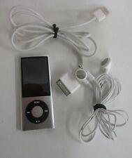 Apple iPod Nano 5th Generation 8GB Blue A1320 MP3 Player +Charge Cord-buds (JBC