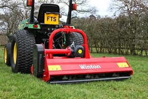 WHF175 - Winton Hydraulic Offset Flail Mower - 1.75m Wide - For Compact Tractors