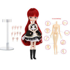 14-Joints Make Up BJD Girl Doll 1/6 Ball Jointed Doll Play Set Gift Box #B