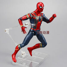 Avengers Infinity War Iron Spiderman Spider-Man Action Figure 6'' Toy + Bracket