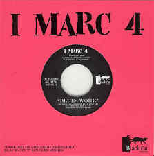 "I Marc 4  Blues Work / Suoni Moderni 7"" 45 Radiation Black Cat LTD 333 Trovajoli"
