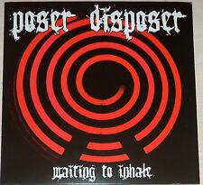 poseur broyeur - Waiting à inspirez LP - Rouge vinyle/gatefld NEUF (2005)