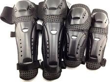 Motocross Biker BMX  4 PCS A SET Knee Elbow Guards Armor Protector