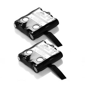 2x 700mAh Two-way Radio Battery Pack For Uniden BP-40 BP-39 BP-38 GMR FRS BT-537