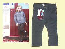 Petit Enfant Pantalon Jeans Fille pour Bikerlook Gr. 74 Gris Neuf