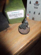 Trondheim-Donjon-Figurine Guillaume-600 exemplaires-boite d origine en métal-