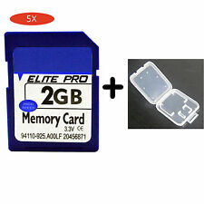 5X High Speed 2G 2GB SD Secure Digital Flash Memory Card For Digital Camera GPS