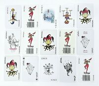 Jokers Playing Cards 15ct Butterfly Ship Owl Flag Single Swap Junk Journal #102