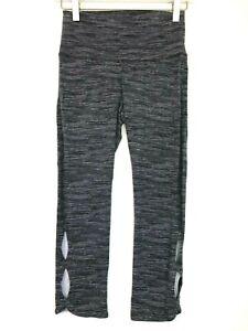 Aerie space dye cut out capri leggings grey size medium