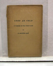 1902 Book- Good as Gold-A Comedy in Four Short Acts by KM Rice (L7569-ARRI)