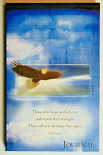Soaring Eagle Christian Prayer Journal, Bible Scripture Verses On Lined Pages