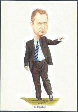 LIVERPOOL FOOTBALL CARDS-2002- #12-GERRARD HOULLIER